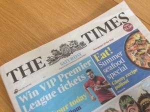 Times, newspaper