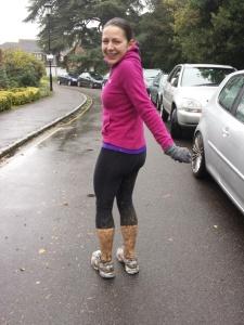 Herts 10k, run, mud,